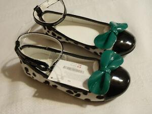 Gymboree Fancy Dalmatian Size 10 Toddler Shoes NWT