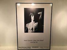 "RARE 1981 KENN DUNCAN NEW YORK BALLET RUDOLF NUREYEV 27.5"" X 20"" FRAMED POSTER"