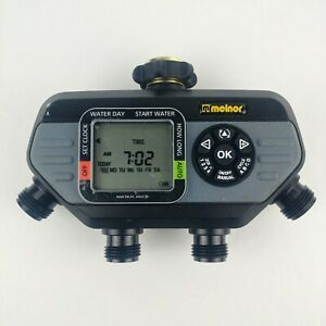 Melnor 73280-19G HydroLogic 4-Zone Digital Water Timer With Stainless Screen