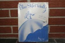 Vintage The Blue Skirt Waltz Sheet Music 1948 Mills Music