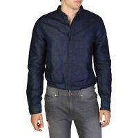 ARMANI EXCHANGE A X Men's Regular Fit Blue Shirt Button-Down New 100% Authentic