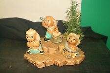 Lot of Pendelfin Figurines on Base 4 Pieces