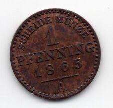 Germany - Preussen / Prussia - 1 Pfennig 1865 A