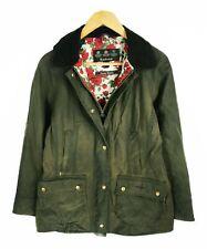 Women's Barbour Liberty Beadnell Green Waxed Jacket - UK 10 US 6 / EUR 36