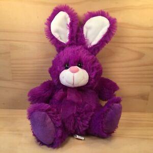 "LILAC THE BUNNY ""Purple"" Gorgeous Little Rabbit Soft Toy Animal Friend (Elka)"