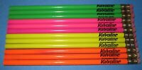 a lot of 12 Advertising Pencils ~ Team Valvoline ~ Say No to Drugs
