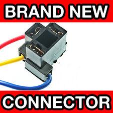 HEADLAMP / HEADLIGHT REPAIR CONNECTOR For: NISSAN (H4 BULBS)