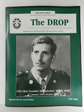 """""""GREEN BERET"""" THE DROP MAGAZINE, FALL 2000 ISSUE, SPECIAL FORCES ASSOCIATION"""
