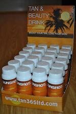 Sunshot Tan & Beauty Drink Display of 24 x 60ml