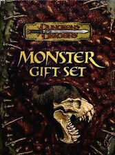 MONSTER GIFT SET NM! D&D FIEND FOLIO MANUAL II & III Monstrous Dungeons Dragons