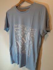 New Mexico T Shirt Pale Blue Mens Size M Cotton NEW