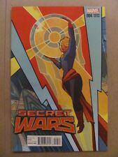 Secret Wars #4 Marvel Secret Wars 2015 Series Captain Marvel Variant 9.6 NM+