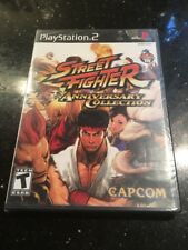 Street Fighter Anniversary Collection PlayStation PS2 Brand New Factory Sealed