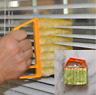 Clean Microfibre Venetian Blind Brush Window Air Conditioner Duster Dirt Cleaner
