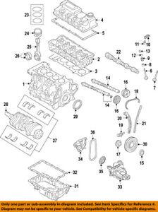 MINI OEM 07-15 Cooper-Engine Crankshaft Crank Seal 11117568264