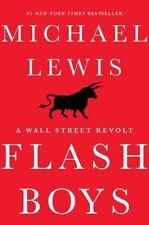 Flash Boys: A Wall Street Revolt, Lewis, Michael, Good Condition, Book