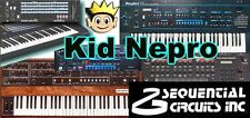 Kid Nepro Sequential Prophet Vs Sound Library - 100 New Sounds Syx or Midi File