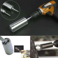 2PCS Universal Set Tool Mechanics Socket Wrench Craft Piece Sockets Ratchet YG