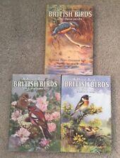 Vintage Ladybird books - British Birds and their Nests - First - second - third