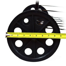 2Pk Back Wheels for Folding Shopping Cart (D862/D962/D861)