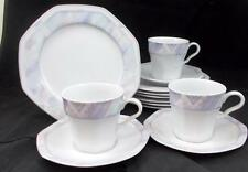 Savoir Vivre CELINA 7 Salads + 3 Cup & Saucer Sets Y0010 VERY GOOD CONDITION