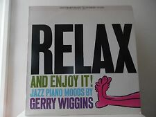 GERRY WIGGINS - RELAX - CONTEMPORARY RECORDS-OJC-173 - NEW - MINT