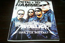 METAL HAMMER MAGAZINE 10/2008 METALLICA AMON AMARTH EVERGREY BLOODBATH BURST