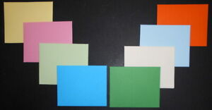 HANDMADE MINI COLOURED ENVELOPES - Pack of 10 -80mm x 95mm - You choose colour