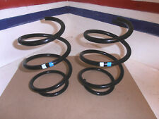 BMW MINI FRONT COIL SPRINGS GENUINE ONE PAIR BLUE WHITE No 6763144 R50 R52 R53