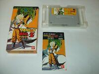 Dragon Ball Z Super Butouden 1 Boxed Nintendo Super Famicom SFC Japan import