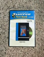 PRENTICE HALL LITERATURE EXAM VIEW TEST BANK CD ROM GRADE 7  2007 013165151X