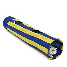 Collapsible Pet Toy Cat Tunnel Tube Rabbit Kitten Cat Teaser Hide and See Tunnel