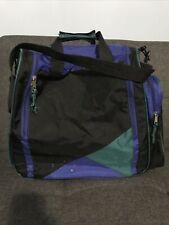 TECNOPRO SKI BOOT BAG - VINTAGE / RETRO - BLUE BLACK GREEN