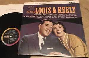 LOUIS PRIMA & KEELY SMITH:THE HITS OF LOUIS AND KEELY.1961CAPITOL MONO.NEAR MINT