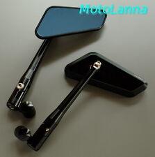 Billet CNC Alloy Mirrors Black Parallelo Yamaha SR500 XS650 CB750 Cafe Racer
