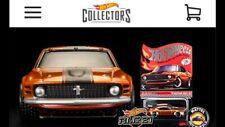 """2021 RLC Hot Wheels Membership """"'70 Mustang Boss 302"""" Car Kit. *PRESALE LISTING"""