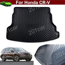 1x Leather Car Mat Trunk Cargo Liner Cargo Mat Tray For Honda CRV CR-V 2012-2016