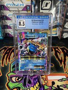 MEGA M Blastoise EX 22/108 NM/M CGC 8.5 ULTRA RARE Holo Pokemon XY Evolutions