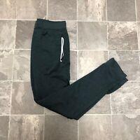 Men's Hurley Nike Dri Fit Cuffed Ankle Jogger Sweat Pants Sz S Gray Black