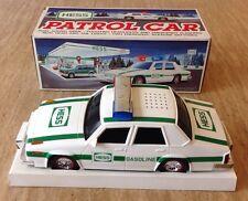 Hess Gasoline 1993 Toy Truck Patrol Car Police Cruiser