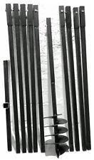 Erdbohrer Erdlochbohrer Brunnenbohrer Brunnenbohrgerät Handerdbohrer 180 mm