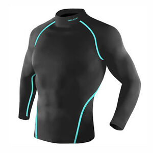 Take Five Mens Skin Tight Compression Base Layer Running Lining Shirt NT037