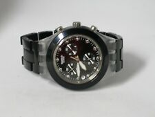 Swatch Full-Blooded Night Chronograph Men's Swiss Watch