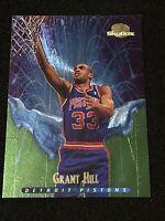 1995-96 Skybox Basketball GRANT HILL MELTDOWN FOIL SP, Detroit Pistons HOFER