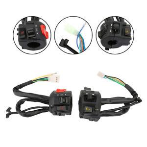"Motorcycle 7/8"" Handlebar Switch Horn Turn Signal Headlight Start Control Button"