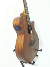 """Caraya Safair 40"""" CEQ Acoustic Mahogany Guitar with Bag and Picks"""