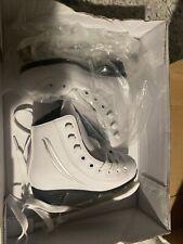 New listing Lake Placid Cascade Girl's Figure Ice Skate, White, J10