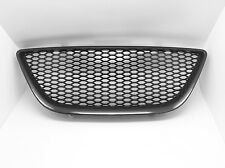 Black Honeycomb Mesh badgeless Grille Grill For Seat Ibiza 6J mk5 2008-2011