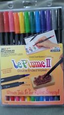 LePlume II 12 pc Primary Set double ended markers