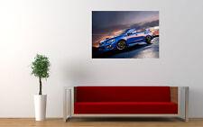 SUBARU IMPREZA BLUE WRC WORLD RALLY A3 POSTER  AMK1282
